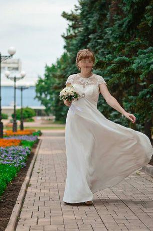 Легкое и нежное свадебное платье