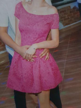 Sukienka z kornkowa
