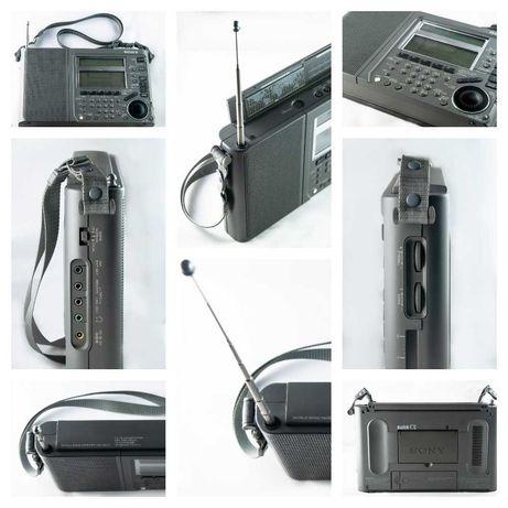 SONY ICF-SW77 Стереофонический синтезаторный  радиоприемник всеволново