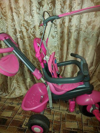 Велосипед smartTrike, малиновый