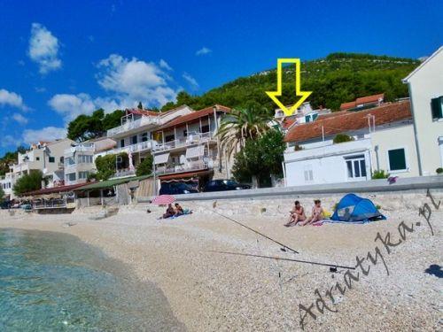 Przy plaży! Chorwacja Zaostrog apartamenty noclegi kwatery dom wakacje