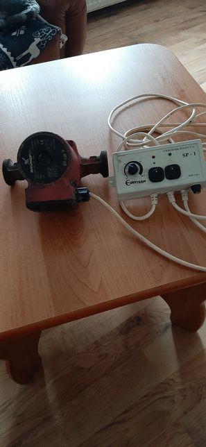 Pompa Grundfos do centralnego ogrzewania +sterownik