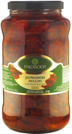 Томаты сушёные в масле ItalCarciofi 3100 мл