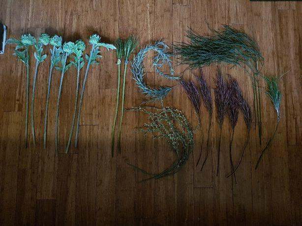 Sztuczne rośliny, ozdobne , oczko wodne