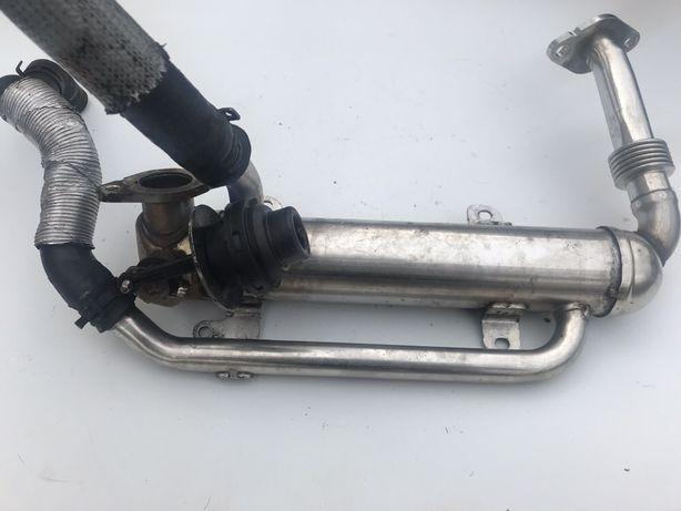 Охладитель отработаных газов ЕГР EGR Octavia a5 Passat B6 golf радиато