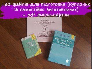 Повний набір для підготовки до ЗНО з укр мови та літератури, Авраменко