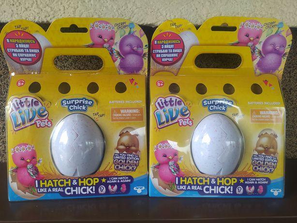 Интерактивная игрушка Little Live Pets Цыпленок в яйце сюрприз (28324)