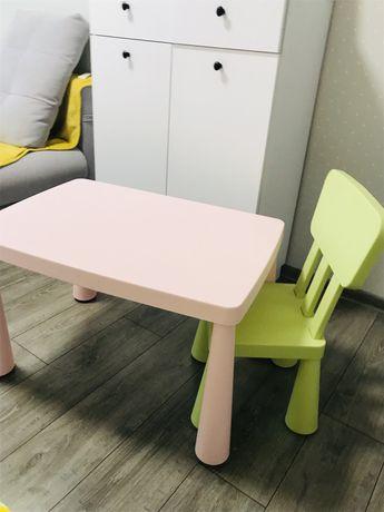 Детский Стол и стул /стульчик Ikea Mammut