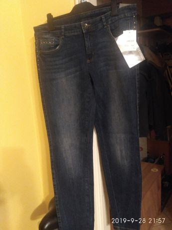 Spodnie jeans damskie