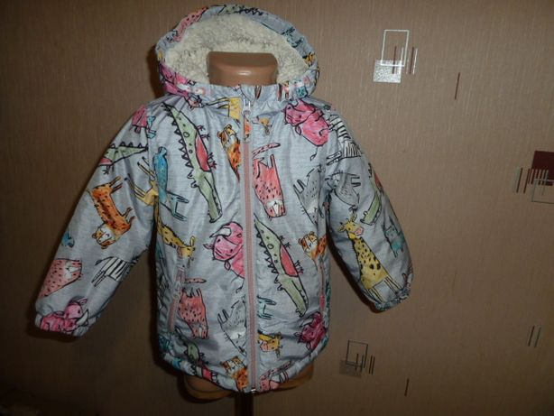 next Теплая куртка Некст на 2-3 года, унисекс