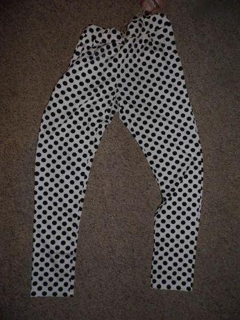 Spodnie w grochy - nowe
