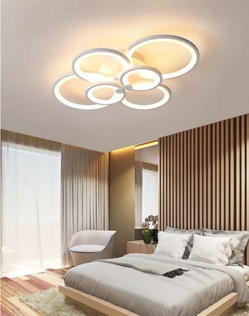 Lampa LED RING LAMPA sufitowa plafon ŻYRANDOL ring