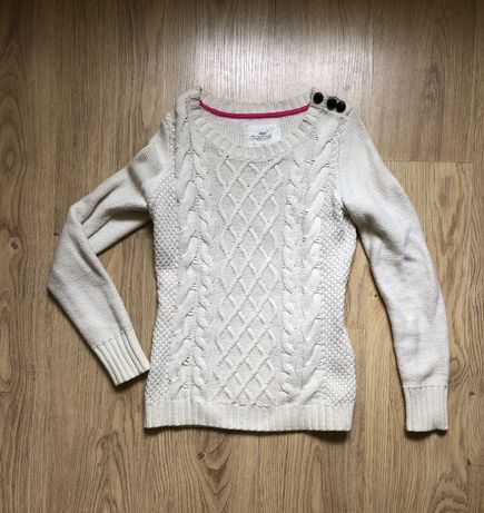 Beżowy sweter H&M, rozm. S