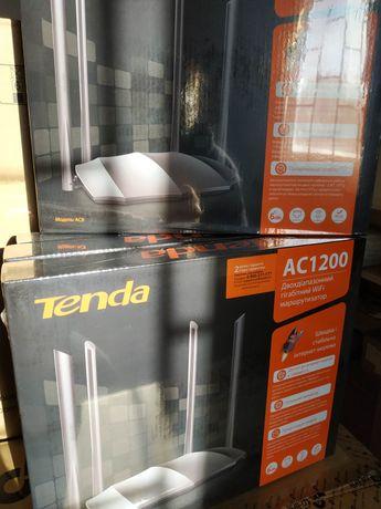 Двохдіапазонний роутер Tenda AC8 маршрутизатор