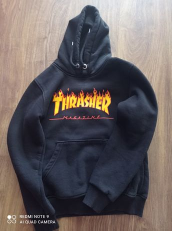 Bluza Thrasher Kolor czarny