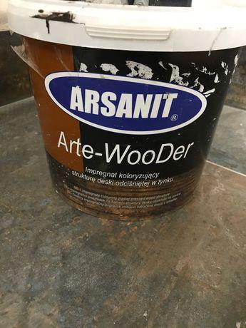 Farba do deski elewacyjnej Arsanit Arte-wooder wenge
