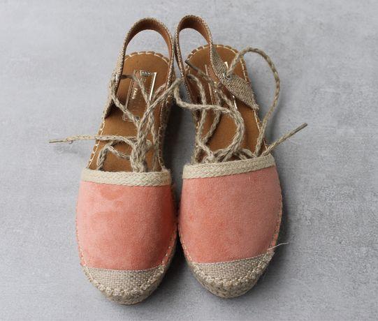 Buty espadryle sandały