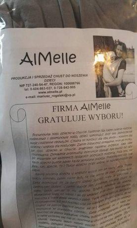 Chusta elastyczna AlMelle szara