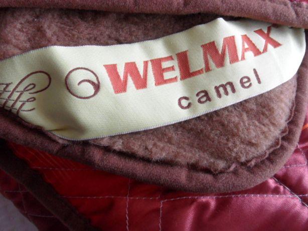 Welmax Kołdra Camel z wełny wielbłąda 180x200 nowa