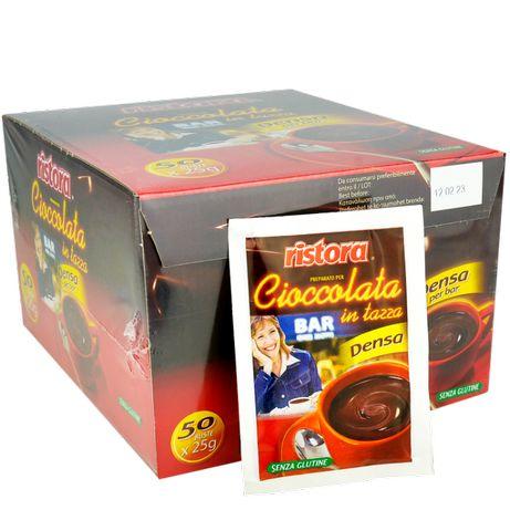 Горячий шоколад Ristora Порционный 50шт по 25г. Арт 00626.