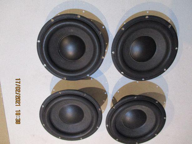 Głośniki sub niskotonowy Peerless XLS 10 + membrany bierne 265g