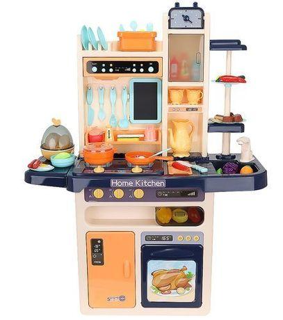 Kuchnia zabawkowa dla dzieci 93cm granat + para