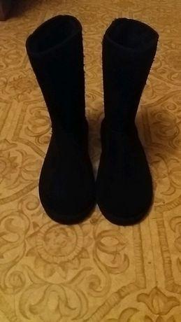 Czarne damskie buty Emu