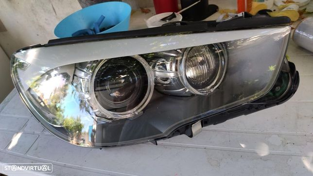 farol direito bi-xenon direcional BMW 5 GT F07