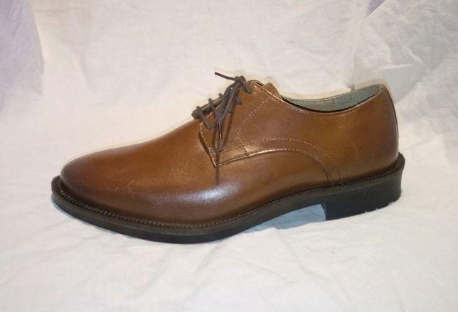 Red Herring кожаные туфли дерби 40 р. (26,5 см) Индия