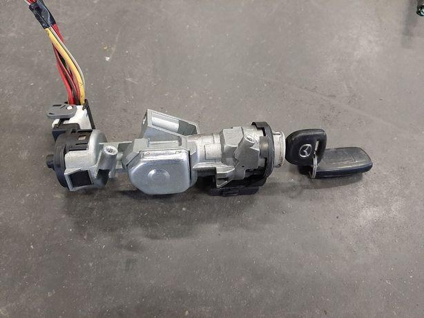 Stacyjka z kluczykiem Mazda 3 BK 1,6 diesel