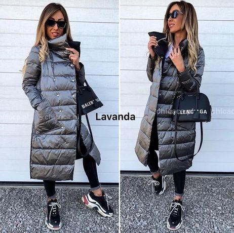Двухсторонняя женская зимняя куртка