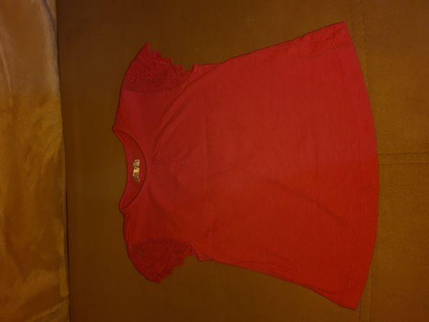 T-shirt różowy, rozmiar 98
