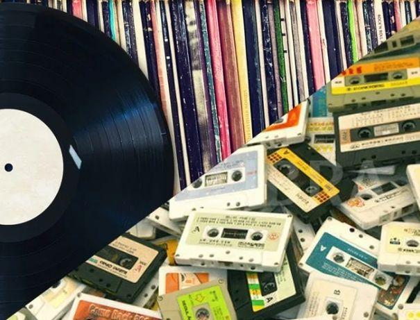 Оцифровка аудиокассет/виниловых пластинок