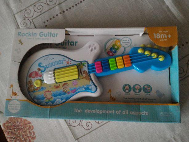 Zabawka dla dziecka gitara muzyczna