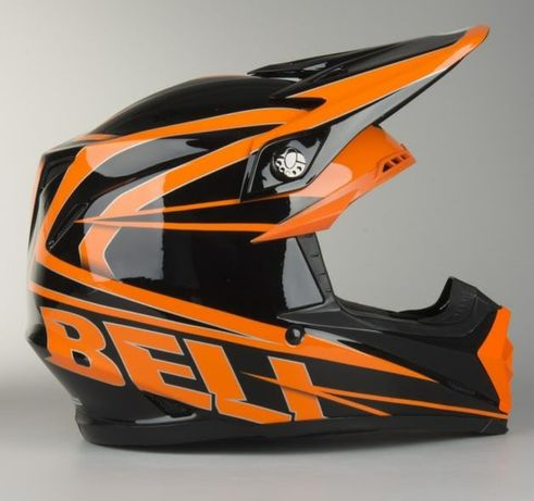 Kask cross Bell Moto 9 Tracker Carbon XS 53-54 rękawice Thor S9 GRATIS