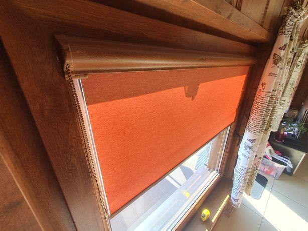 Rolety okienne wewnętrzne z demontażu 7 szt.