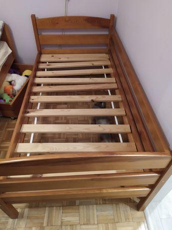 Łóżko drewniane -olcha.