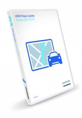 CD Atualização GPS VDO 2015 BMW Land Rover Renault Peugeot Mini Opel