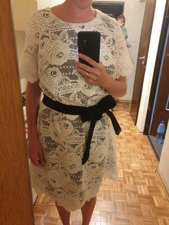 Piękna sukienka koronkowa, rozmiar 46, ale tez super dla 38