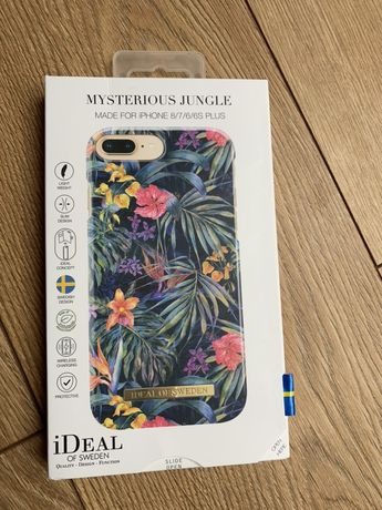 iDEAL OF SWEDEN iPHONE 8 PLUS 7 6 6S PLUS Jungle Obudowa Case Nowa