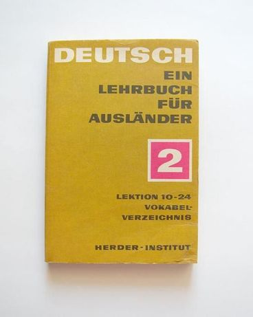 Deutsh ein lehrbuch fur auslander 2 lektion 10-24, niemiecki książka