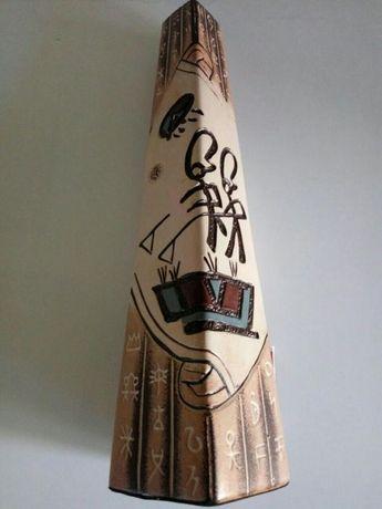 Керамическая ваза 34×8×8см (Египет) восточный декор