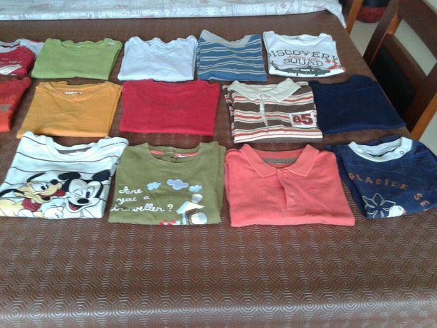 Lote 15 camisolas