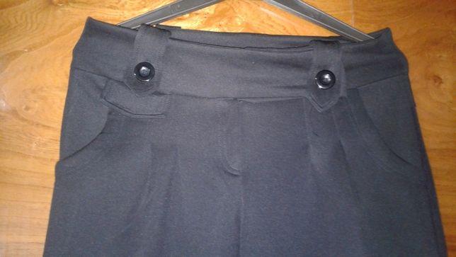 Eleganckie czarne spodnie XL Jak Nowe-Okazja