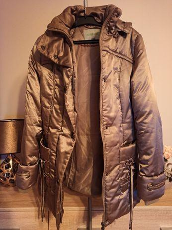 Ciepła długa kurtka zimowa