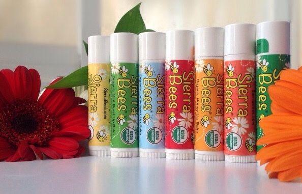 Бальзам для губ органический (разные) Sierra Bees (Lip Balm) iHerb