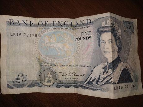 5 Фунтів Велика Британія Можливий торг