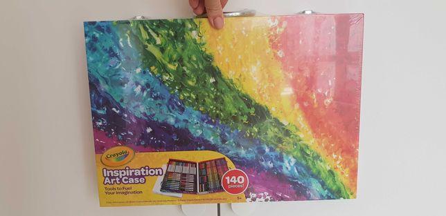 Огромный чемодан Crayola inspiration art case 140 предметов, оригинал