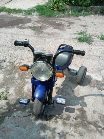 Велосипед 3-колесный TCV синий (T300B/S)