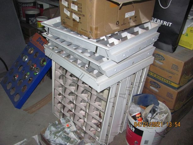 Продам светильники в подвесной потолок 60х60 Б/У